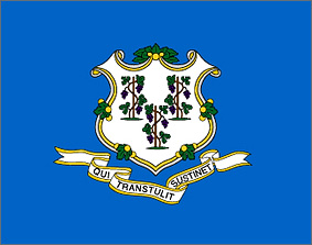State of Connecticut flag